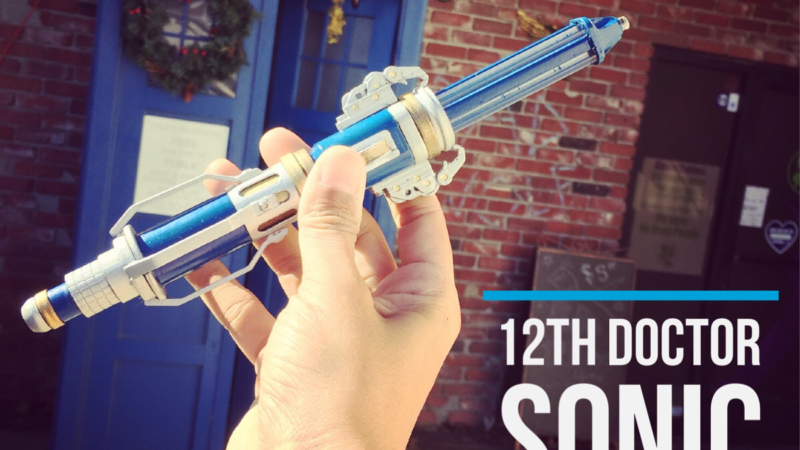 "We made our very own ""working"" 12th Doctor Sonic Screwdriver"